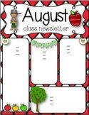 monthly newsletter template for teachers free