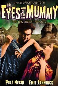 LES YEUX DE LA MOMIE Die Augen der Mumie Ma