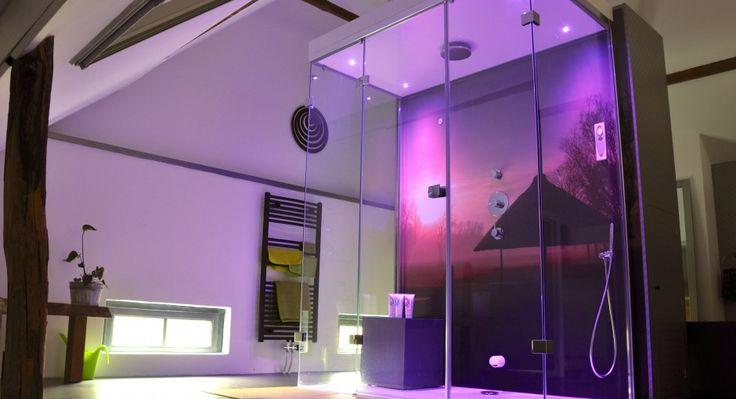 Cleopatra Stoomdouche van glas - Product in beeld - Startpagina voor badkamer ideeën | UW-badkamer.nl