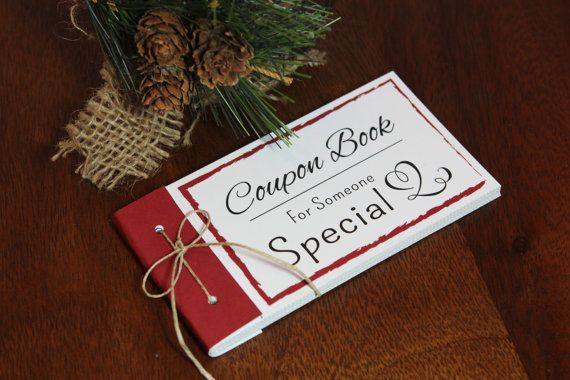 Coupon Book Printable Instant Download Gift Diy Pdf