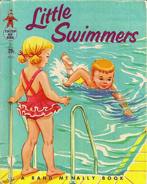 Rand McNally Tip Top Elf Book - Little Swimmers