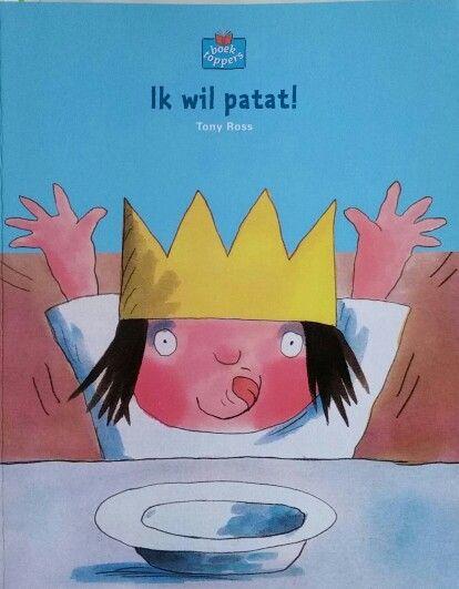 Prentenboek Ik wil patat!