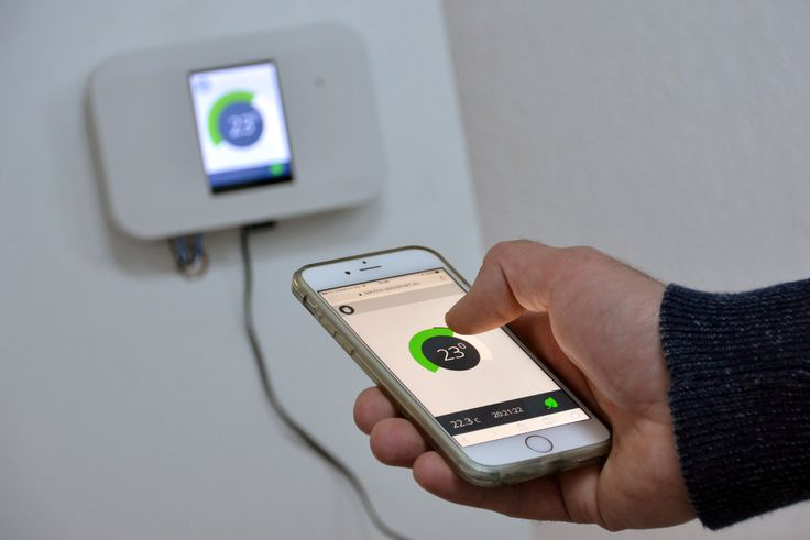Okos Termosztát - UponSmart - Az intelligens otthon szakértője | Intelligens otthon rendszerek