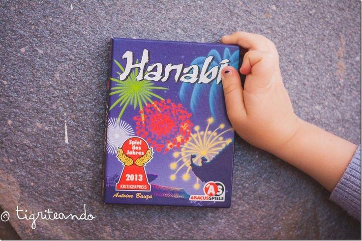 Hanabi. Es un juego cooperativo. Juegos de viaje