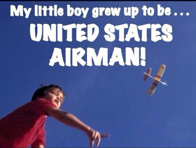 Proud Air Force Mom...America's best ♥