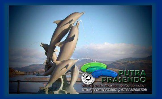 patung-lumba-lumba