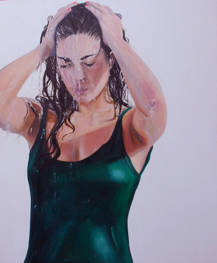 óleo sobre tela, 120x100 cm 2010, nicole tijoux