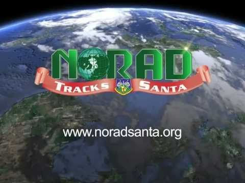 Track Santa on Christmas Eve and click on different locations to learn more about them!
