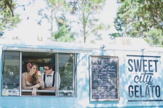 Ensaio fotográfico com um divertido Food Truck