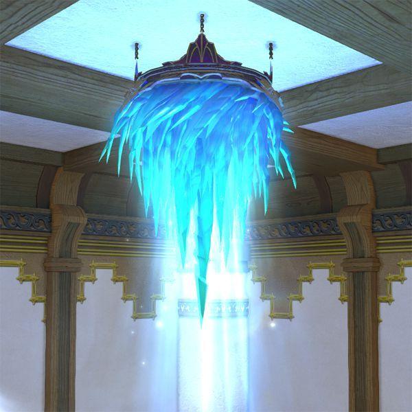 Ice Chandelier Ffxiv Housing Interior Chandelier Interior Ceiling Lights