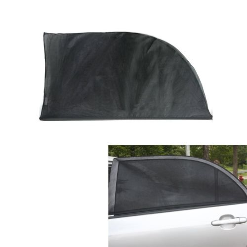 2PCS Adjustable Car Window Sun Shades UV Protection Shield Mesh Cover Visor Sunshades