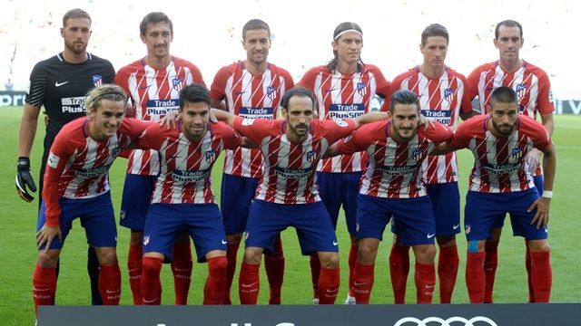 Atletico Madryt w sezonie 2017-18 #atletico #atleticomadrid #football #soccer #sport #sports #futbol #pilkanozna