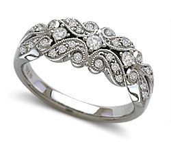 wedding anniversary ring- love this- it matches the one I already have.