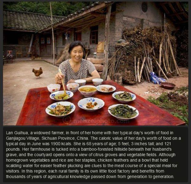 Ganjiagou Village, Sichuan Province, China.  #Food #China