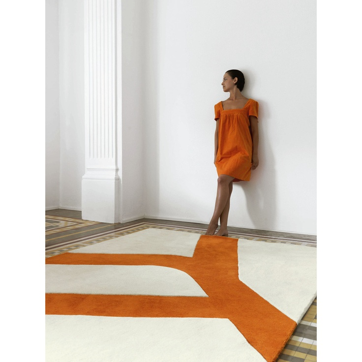 Flat Rectangular Rug by Gandia Blasco
