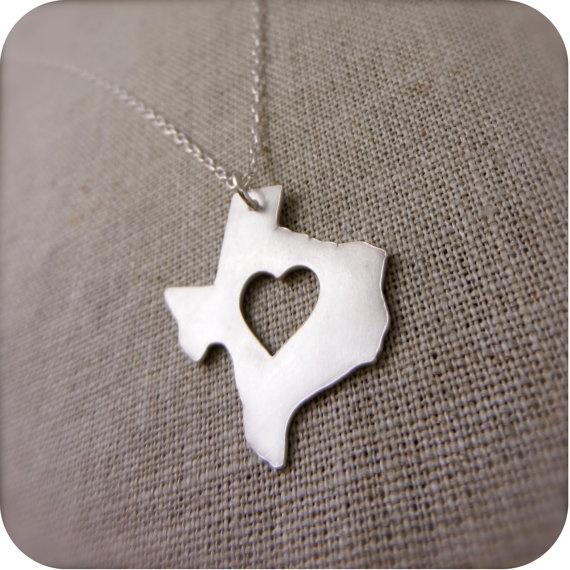 texas and james avery :): James Avery, Ahhh Texas, Blessed Texas, Texas Necklaces, Texas States, Heart Texas, My Heart, U.S. States, States Necklaces