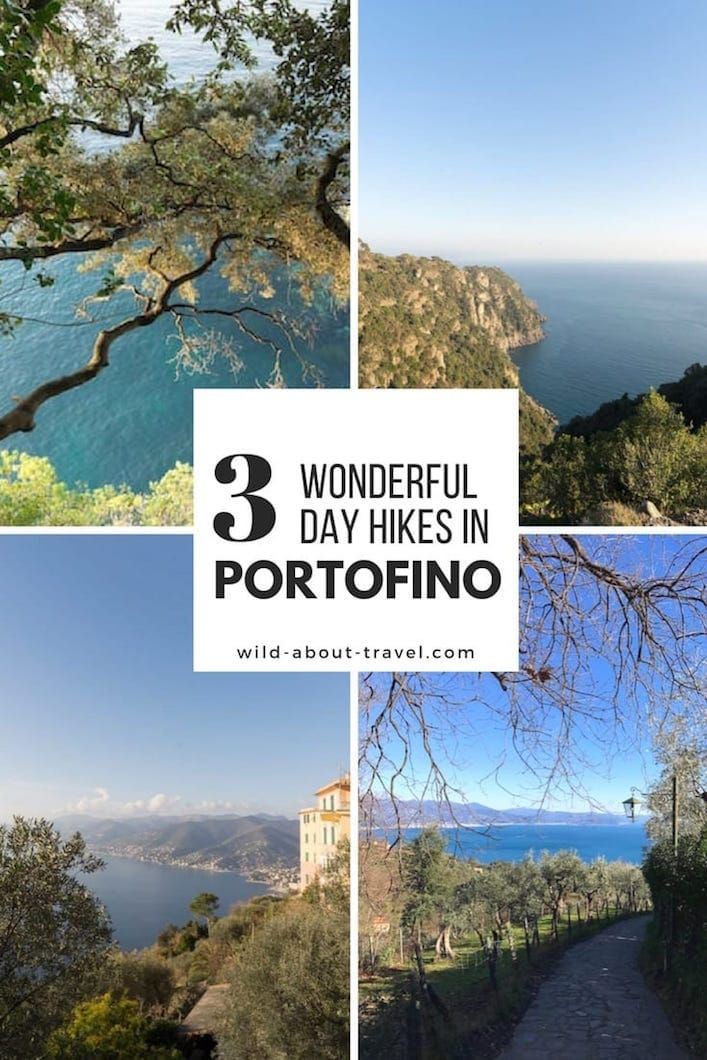 Forget the Cinque Terre and go hiking Portofino! All right, this might be a bit of an overstatement - after all, the Cinque Terre is one of the most popular destinations in Italy for international travelers - but believe me, the area of Portofino Natural Park is beautiful. Provided that you go off-season.  But this is true almost everywhere in Italy if you want to beat the crowds. #italy #hiking #traveling #portofino