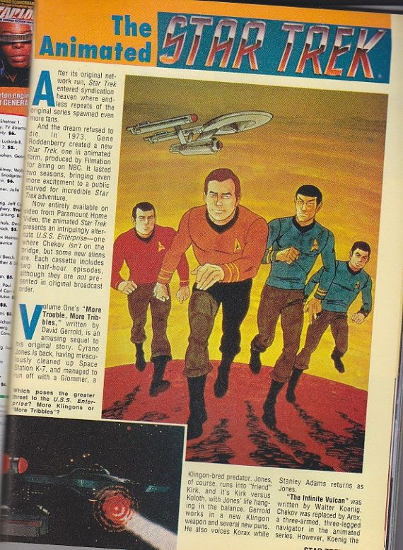 Star Trek 25th Anniversary Special Magazine 1991  by clutterbunny, $7.00