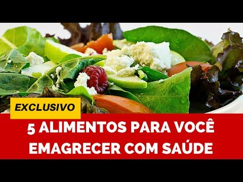 5 Alimentos para uma Dieta Balanceada - Tenha Barriga Tanquinho - Queima de 48 Horas - YouTube