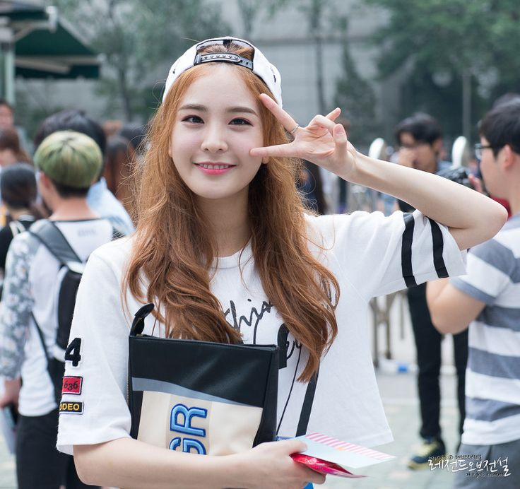 150731 OTW to Music Bank - Nahyun