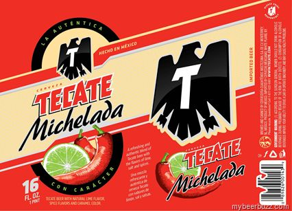 Tecate Michelada ... refreshing+full flavor.. Awesome!
