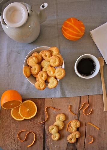 Biscotti di Farina di Mais all'Arancia