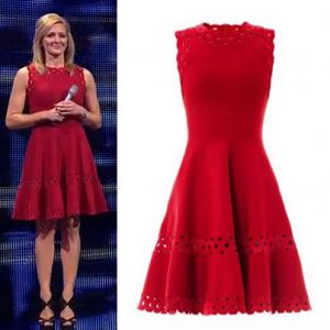 Where did Gabby Logan get her red dress from at the Sports Personality of the Year Awards 15/12/13? - Style on Screen