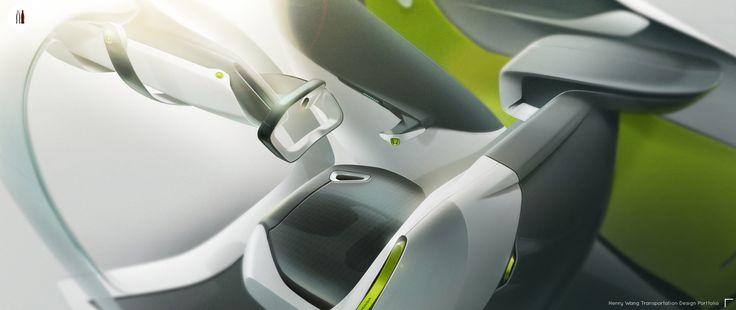 Honda 2-seater Pickup Interior Concept on Behance