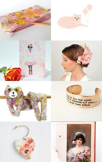 Blush by Jennifer Ross on Etsy--Pinned with TreasuryPin.com