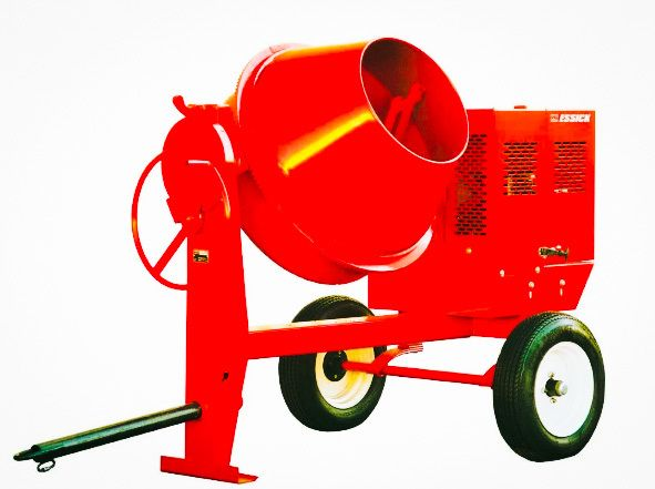 Multiquip Mc94sh8 Concrete Mixer Steel Drum 9 Cf 8hp Honda Gx240 Concrete Mixers Cement Mixers Steel Drum