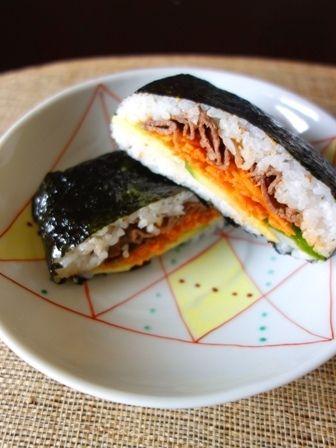 キンパ風おにぎらず by Y'sさん | レシピブログ - 料理ブログのレシピ ...