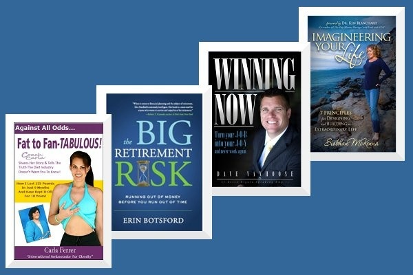 Some of of my bestsellers!  See more on my Author's Showcase at www.SoYouWantToWrite.com.