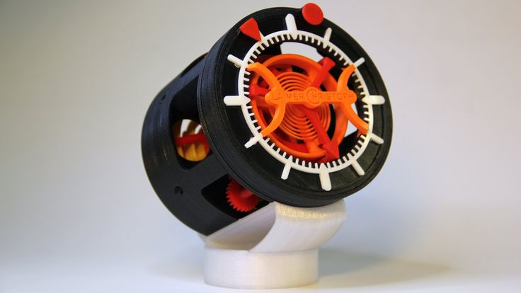 3D Printed Watch - Not really practical, but cool that you can do this.  Also gives a nice look at how watch mechanics work.