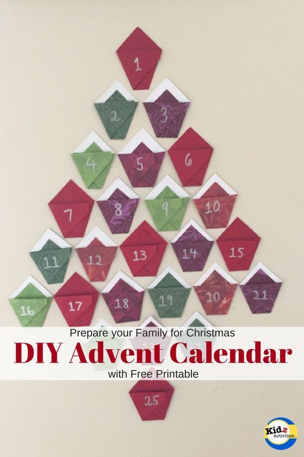 Advent Calendar Craft Kindergarten : Ideas about advent calendar activities on pinterest