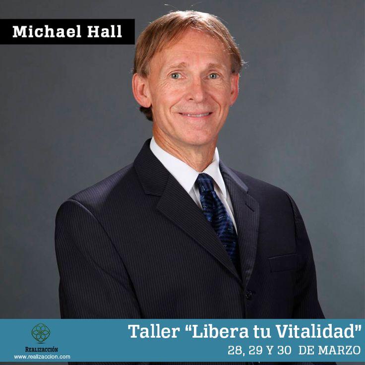 """Diploamdo """"Libera tu Vitalidad"""" impartido por el Doctor Michael Hall PH.D. Autor del modelo de Neuro Semantics."""