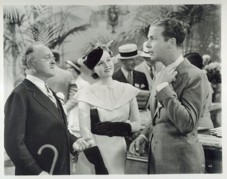 Grant Mitchell, Patricia Ellis and Dick Powell in Convention City (1933)