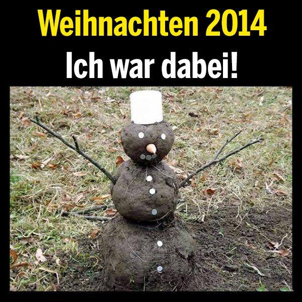 Weihnachten 2014 - Ich war dabei!