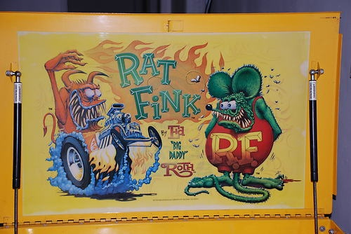 "Matco Rolling Tool Box ""Ed Big Daddy Roth"" Rat Fink Tool Box"