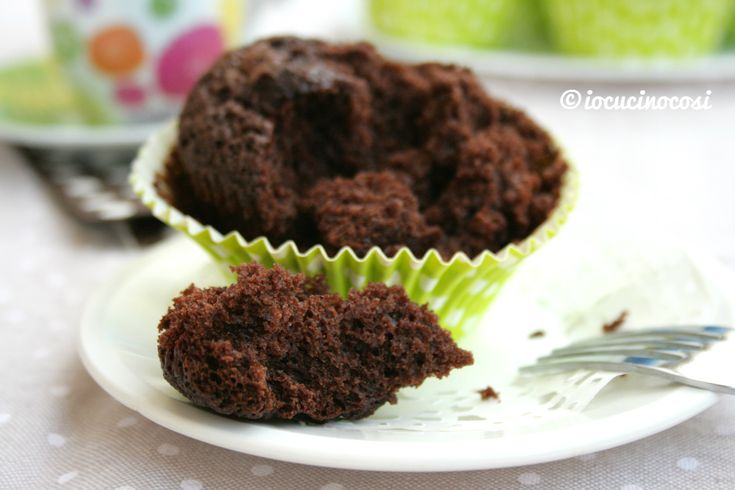 Muffin al cioccolato fondente extra dark