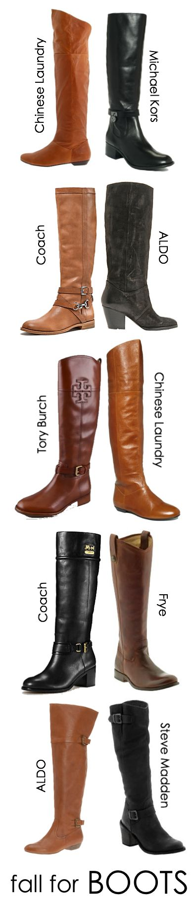 Fall Fashion ~ BOOTS! A must...I want another pair to add to my two that I have. :)