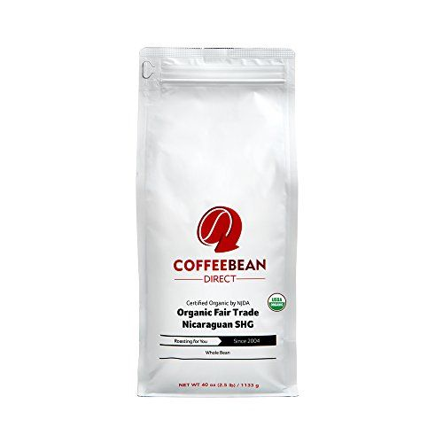 Coffee Bean Direct Organic Fair Trade Nicaraguan SHG 25 Pound * Check out this great product.