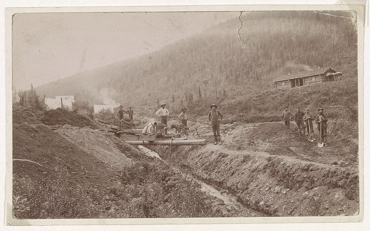 [Gold miners, El Dorado, California] | Library of Congress