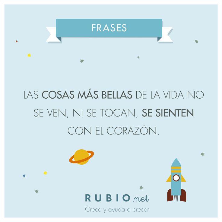 Los niños nos recuerdan que cada día puede ser maravilloso si valoras más las cosas buenas. www.rubio.net