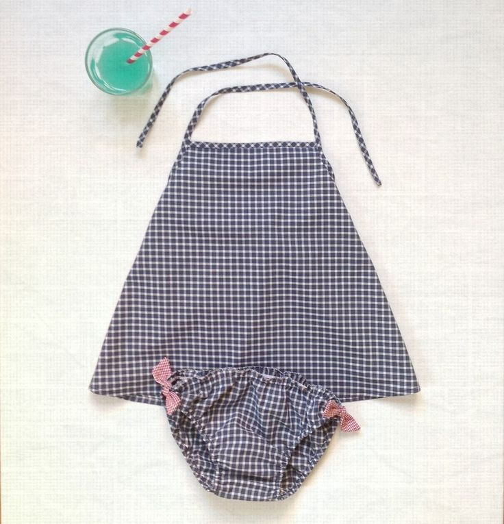 beachsuit for toddler girls by Firulì Firulà