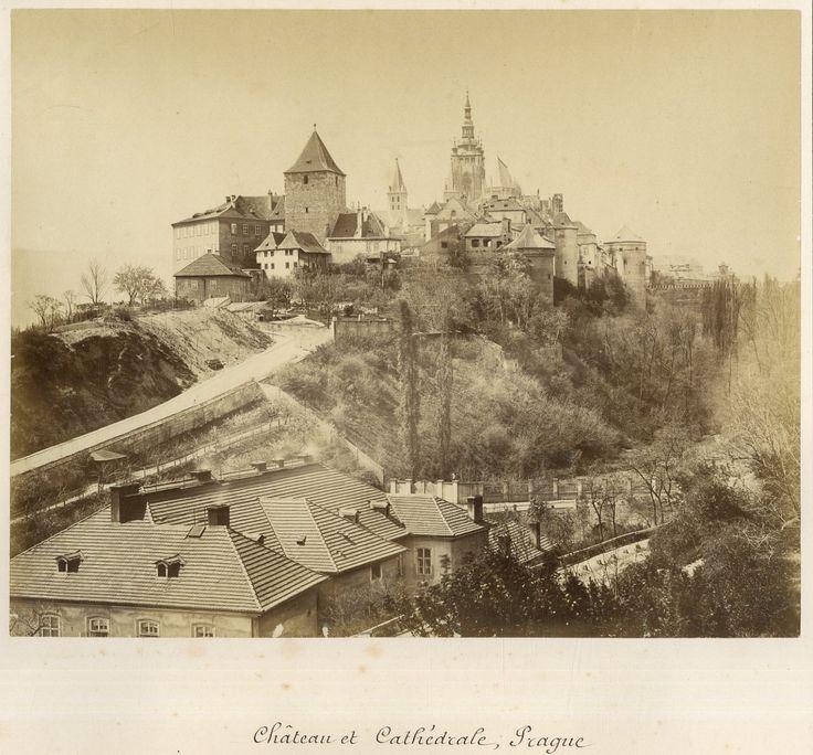 Prague, Château et Cathédrale     #Europe_Est #Tchécoslovaquie_Ceskoslovensk