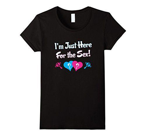 Women's Gender Reveal - T Shirt I'm Here for the Sex Shir... http://www.amazon.com/dp/B01EW2XVU2/ref=cm_sw_r_pi_dp_-M-rxb1FC1132