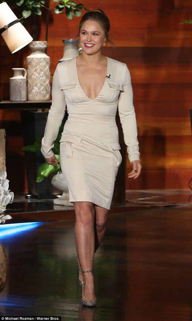 Ronda Rousey discusses defeat on Ellen DeGeneres Show ...