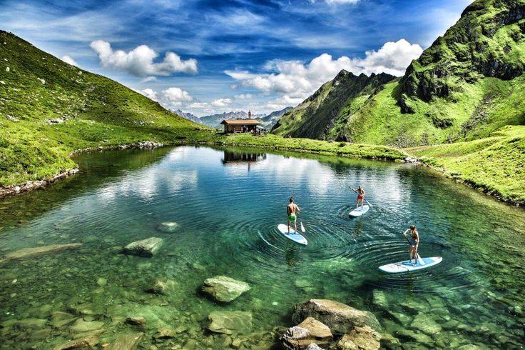 Das Seetal. Für Kletter- und Bergseeabenteurer.