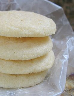 Drop Sugar Cookies- they turned out 100% perfect and delicious!