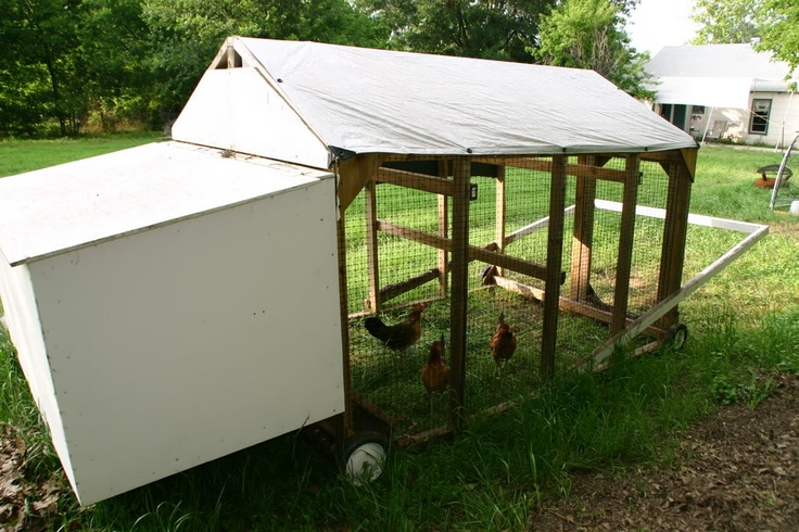 1000 images about portable chicken coop on pinterest for Cheap chicken tractor